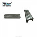 Stainless steel Precision Casting city public works Rail line steel casting body