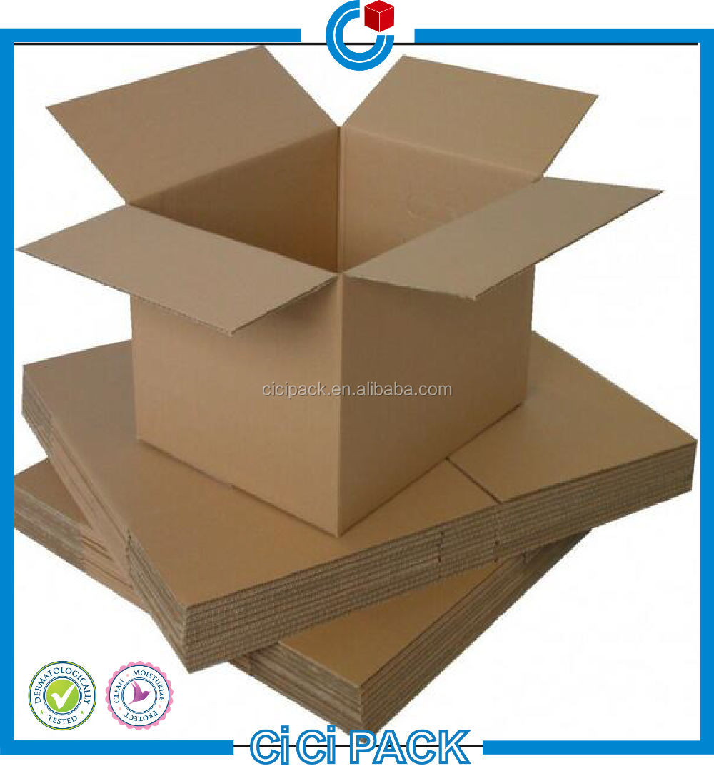 Brown color 5-ply corrugated outer packaging carton box