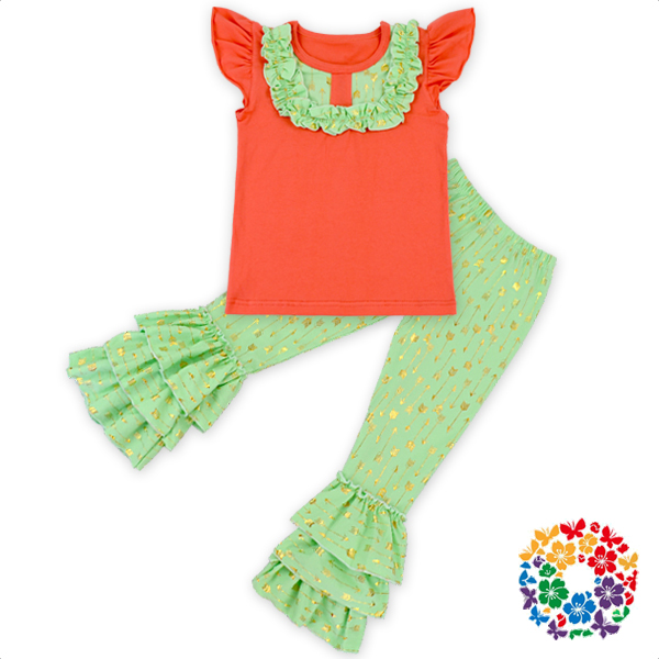 Korean Kids Clothes Wholesale Girls Boutique Tops Baby Outfits Giggle Moon Baby