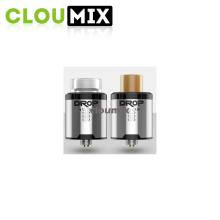 Vape drop rda tank Easy to build wholesale E cig Vaporizer tank silver drop rda/black drop rda newest digiflavor 24mm tank