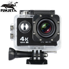 FUNJET Action Camera 2.0 Inch WiFi 1080P Full HD 30M Waterproof H264 12Mp Video Action DV Sports Action Camera