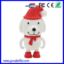 Cheap custom santa buddies 1gb 8gb 32gb bulk usb flash drives