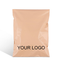 custom print logo patterned poly mailer envelope postal mailing shipping plastic packages bag