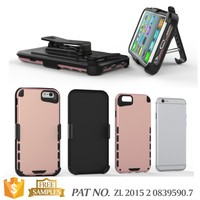 Kickstand card holder belt clip case for iphone 6 6s