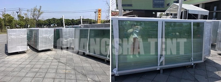 15x30m manufacture aluminum double decker tent for sale