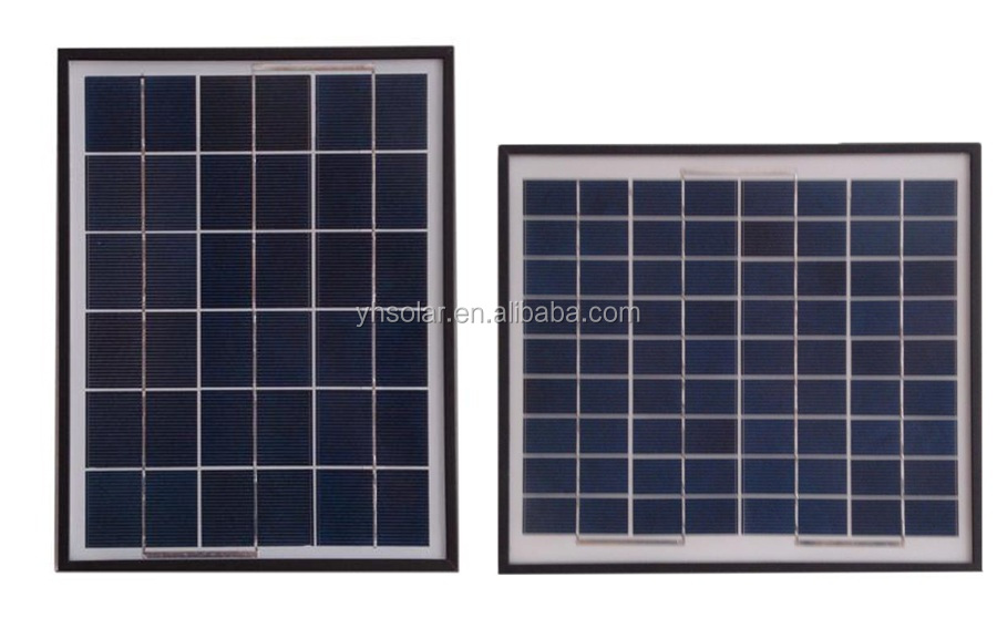 10W 10W 8.5V Small Poly Solar PV Panel