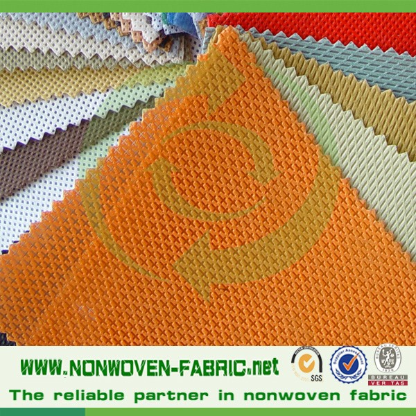 New style cross design nonwoven fabric pp spunbond for shoe lining
