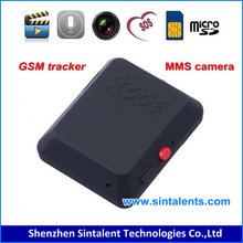 Mini GSM GPS tracker x009 with camera sim card camera Video Recorder Voice X009 gsm mini gps chip tracker
