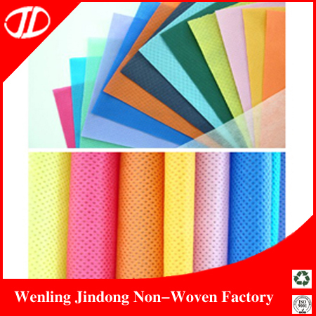 2015 Pp Spunboned Non-woven Fabrics For Bags,Table Cloths,Shoes,Roadbed Cloth