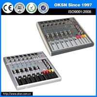 Hot selling MKA6USB dj mixer midi with low price