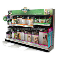 Factory Price China Made Floor Metal Dog Safe Products Pet Food Retail Store Display Supplies