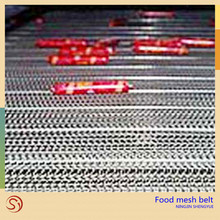 Manufacturer stainless steel 304 woven wire mesh conveyor belt