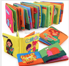 KAKIBLIN Factory directly supply baby cloth soft books developing books