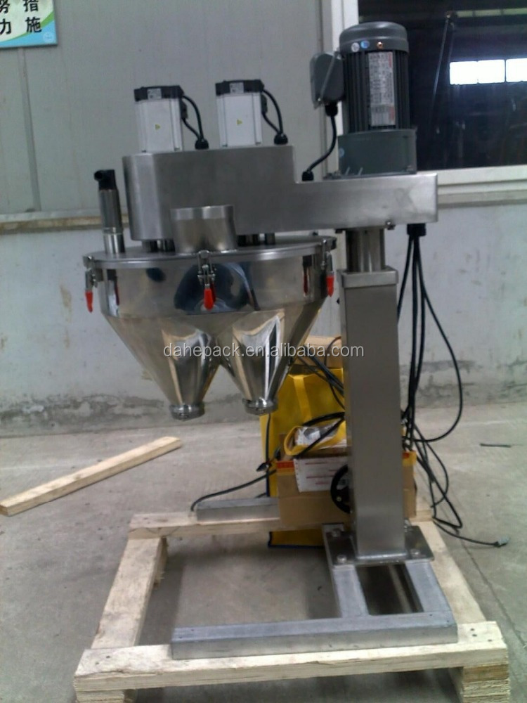 Two Heads Auger Filler,Powder Filler,Auger Filling Machine
