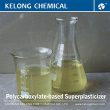 Kelong chemicals Admixture for concrete PCE Water reducer
