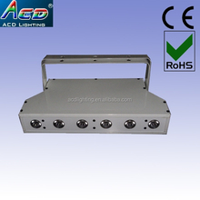 popular design RGBAW rechargeable battery & wireless DMX led bar light /led wedding wall washer