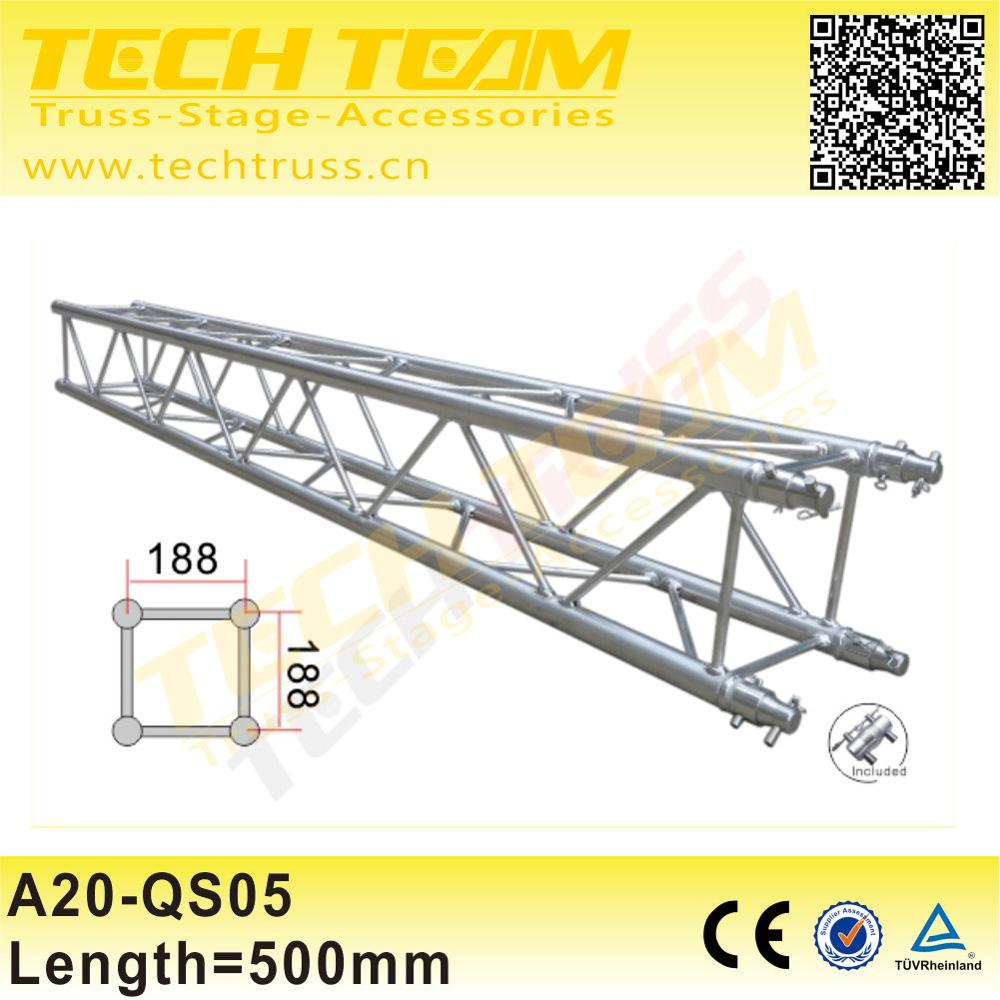 Outdoor Stage Spigot Lighting Roof Truss 220mm Square Truss