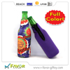 China Manufacturer Wholesale new design customized neoprene wine bottle cooler