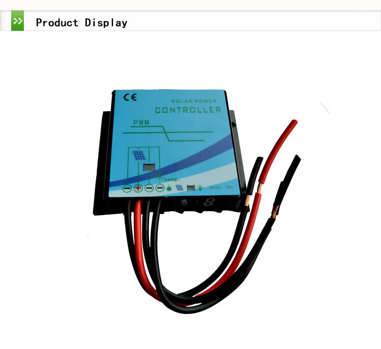 JN-W/H waterproof solar street light charger controller 12V 24V auto 20A