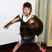 buy direct from china factory halloween christmas roman soldier costume for kids, party supply