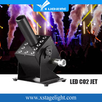 12PCS 3W RGB 3in1 stage effect machine Led co2 jet