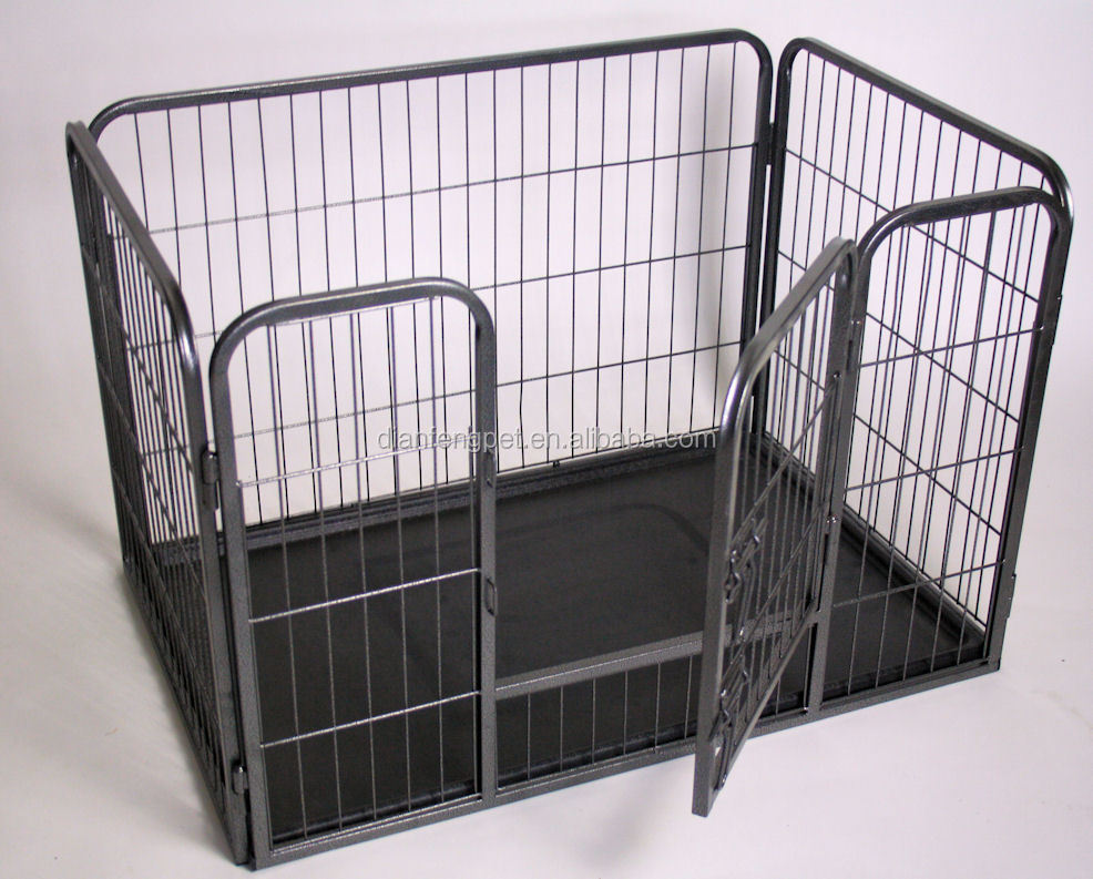 Large square heavy duty pet dog playpen buy dog playpen for Recinto in legno per cani
