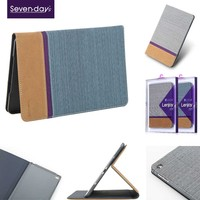 X-level factory supply 4 folds stand leather tablet case for ipad mini 4