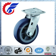 50mm Swivel and Fixed Castor Heavy Duty Rubber caster wheel with brake