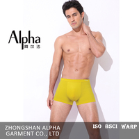 Italy Brand New Stylish Sexy Mature Men Solid Color Underwear Boxers