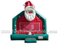 Chrismas holiday inflatable folded bouncy castle F1048
