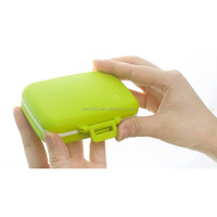 LOOK BACK Portable Functional Medication Plastic Pill Boxes Wholesale