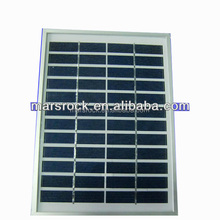 5W 12V Polycrystalline Solar Panel Module with Aluminum Alloy Frame, CE,TUV,RoHS,UL Certificates