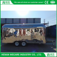 MUBAN Customized Latest Design mobile snack food van