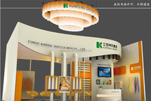 China Wooden Exhibition Stand Design/Trade Show Booth/Fair Display Case
