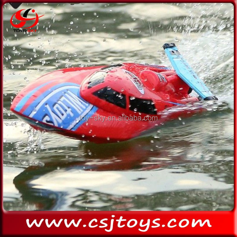 Summer toy WL911 2.4G RC model ship toy freedom high speed racing boats for sale