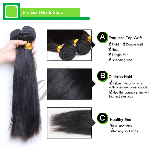 Top quality factory prices 6A grade 100% virgin hair weave atlanta