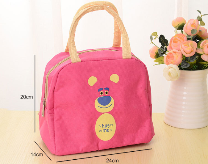 Factory custom picnic cooler bag with oxford material children lunch bag for kids picnc bag