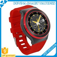 Newest 3G android smart watch phone 4.4 and bluetooth 4.0 and 5.0 camera WIFI Touch screen