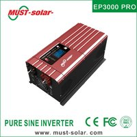 EP3000 PRO series built in 50A solar charge controller off grid low frequencydc to ac power inverter 5000w