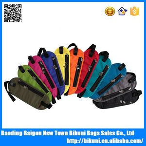 New design high quality unisex multifunctional travel waterproof waist pouch, wholesale custom belts bag