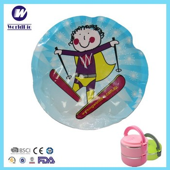 Plastic Cartoon Characters Cold Pack For Cooling Food