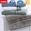 China Top 10 Towels' supplier high absorbent Dobby Jacquard weave white hand towel