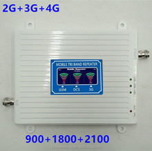 850/900/1800/2100/2600MHz CDMA/GSM/DCS/WCDMA/LTE Mobile Phone Signal Booster/Repeater