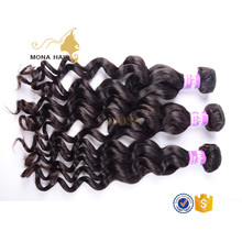 factory direct shipping human hair weaving no mixed any synthetic hair