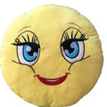 new products 2016 custom plush emoji pillows