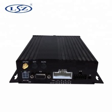 GPS MDVR Double SD Card Mobile <strong>DVR</strong> 4ch Video Recorder with sim card