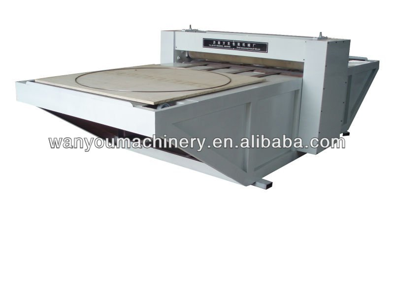 sand paper die cutting forming machine