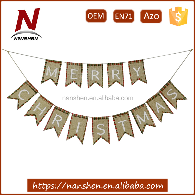 2017 popular decorative wholesale christmas garland
