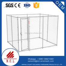 Outdoor Dog Kennel Gate Large Chain Link Fence Pet Enclosure Run House