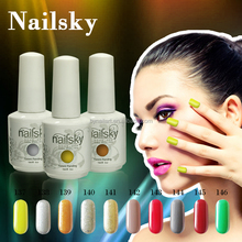 Natural pigment 147 different colors uv gel gel nail polish OEM/ODM gel nail systems